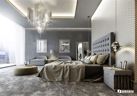 luxury bedroom scene vrayforc4d scene files modern classic bedroom scene on