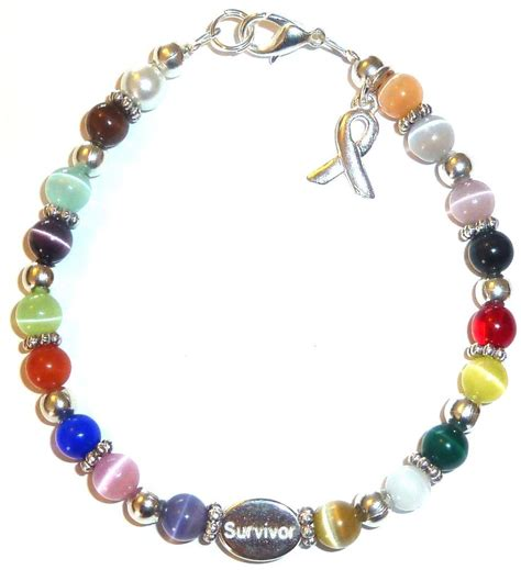 colored for bracelets bracelet multi survivor 18 colors packaged cancer