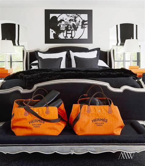 black white orange bedroom orange and black bedrooms contemporary bedroom