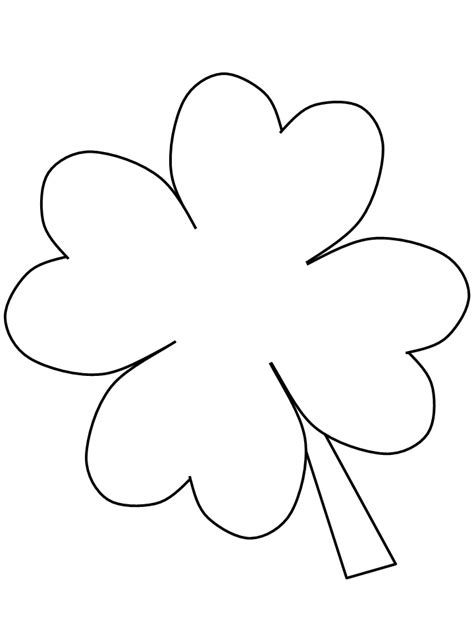 free coloring pages of 4 h clover
