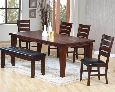dining room table and chairs with bench 26 big small dining room sets with bench seating