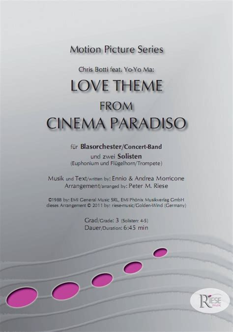 love theme morricone musicainfo net details love theme from cinema paradiso