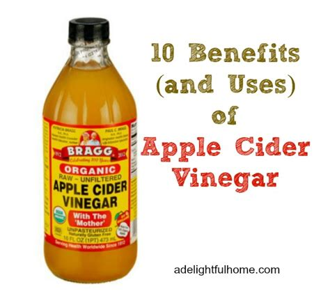 apple cider vinegar in water 10 benefits and uses of apple cider vinegar a delightful home