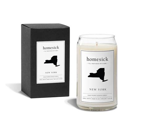 candles that smell like your state homesick candles scented candles crafted to smell like