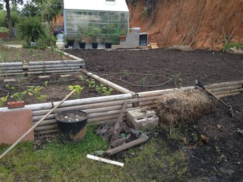 Using Landscape Timbers For Raised Beds The Common 8 Foot Landscape Timbers Make Great Raised Bed