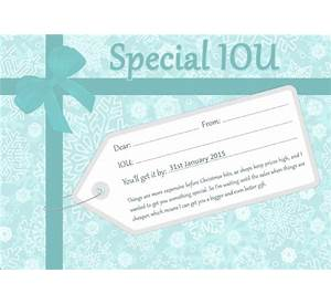 Christmas Iou Certificate Template Choice Image 82 Writing A Career Free