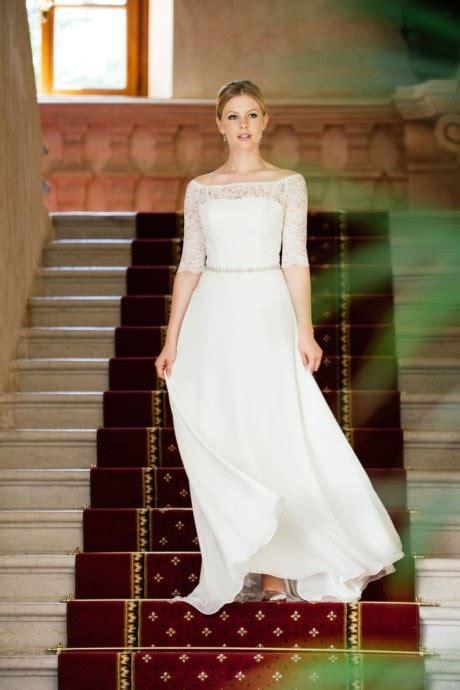 Hochzeitskleider Vintage Schlicht by Brautkleider Schlicht Modern Vintage K 252 Ssdiebraut