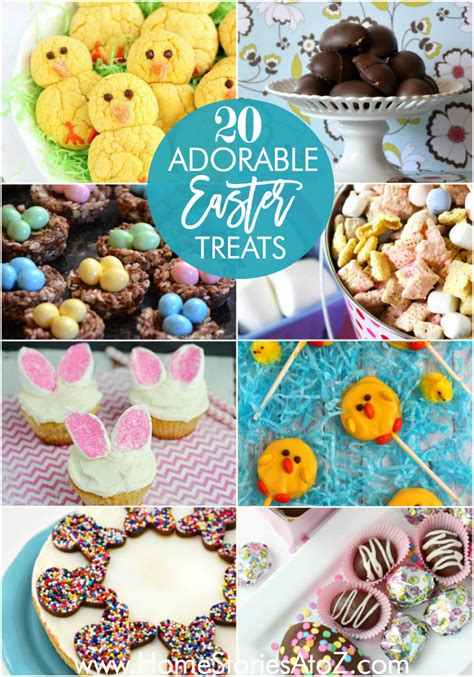 20 adorable easter treat recipes home stories a to z
