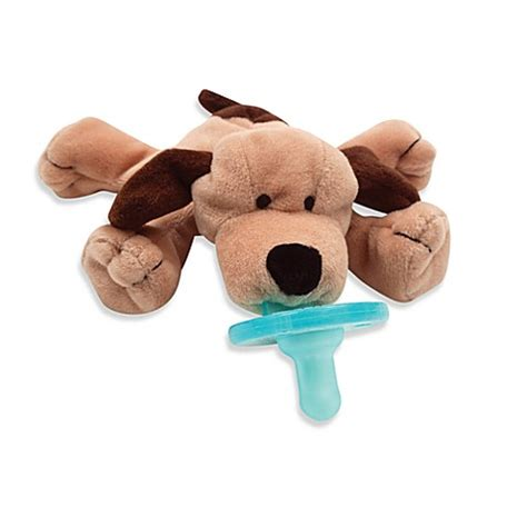 puppy pacifier buy wubbanub brown puppy pacifier from bed bath beyond