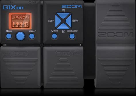 Zoom G3xn Multi Effects With Expression g1xon guitar multi effects processor with expression pedal