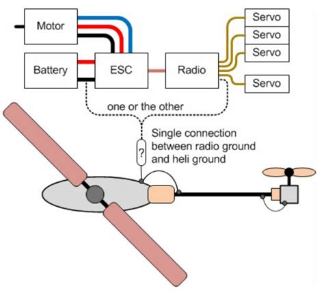 how to make a helicopter circuit diagram circuit and