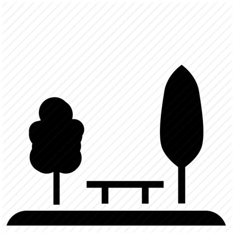 park bench icon bench nature park tree icon icon search engine