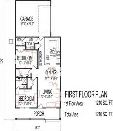 House Plans 1 Story Small Low Cost Economical 2 Bedroom 2 Bath 1200 Sq Ft