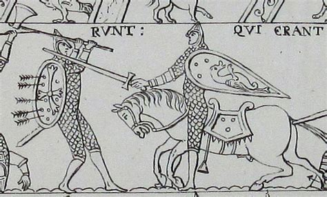 Battle Of Hastings Bayeux Tapestry Coloring Pages Sketch Bayeux Tapestry Colouring Pages