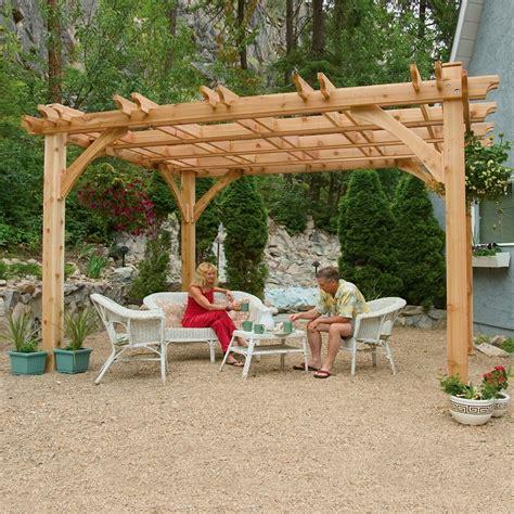 pergolas kits lowes pergola design ideas pergola kit lowes 10ft x 12ft cedar