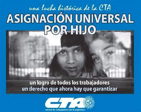 asignacion universal por hijo la entrega de libretas se frente transversal de malvinas argentinas urgente para
