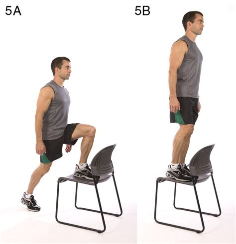 Chair Step Ups by If You Ve Got 7 Minutes You Time To Workout