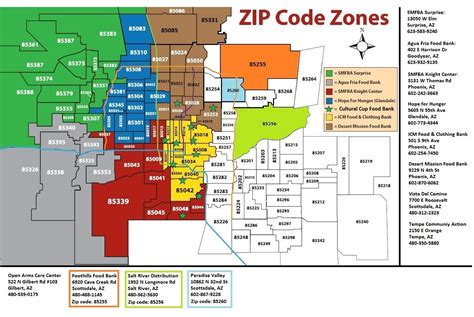 zip code map mesa az arizona zip code map scottsdale pinterest zip code map