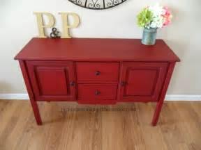 helen nichole designs custom posh red buffet