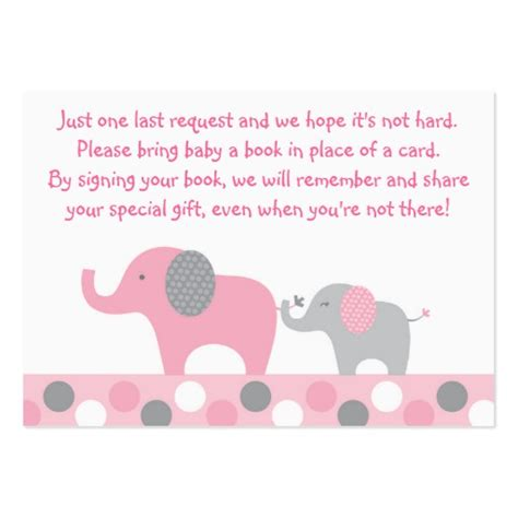 Baby Shower Card Template by Baby Shower Book Instead Of Card Template