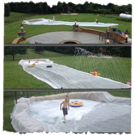 diy backyard slide 16 brilliant ideas to create your own diy backyard waterpark