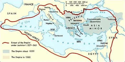 The Byzantine Empire Russia And Eastern Europe Outline Map by Mosaic Matters Feature Items