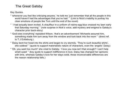 theme of ambition in the great gatsby great gatsby corruption of american dream essay