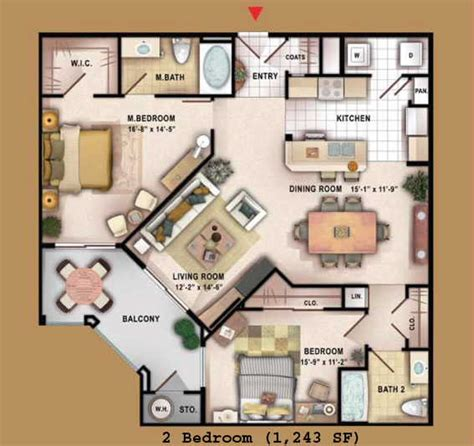 Manhattan Condos Las Vegas Floor Plans | floor plans beta manhattan las vegas condos