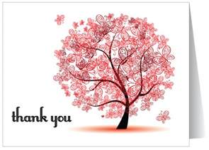 whimsical thank you note card 1317 harrison greetings business greeting cards