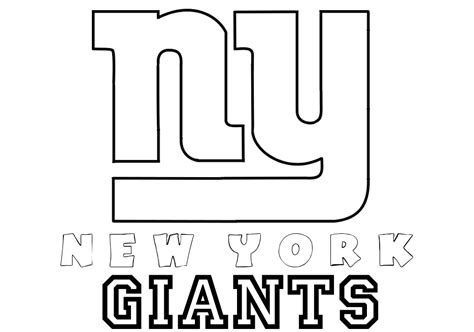 ny giants colors new york giants helmets coloring page coloring home