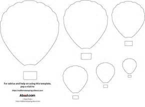 Hot air balloon template photo credit kate pullen