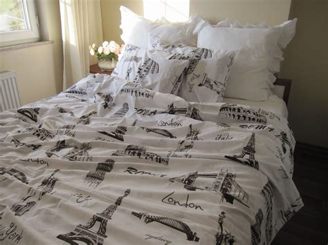 eiffel tower bedding twin xl single duvet cover eiffel tower theme paris london