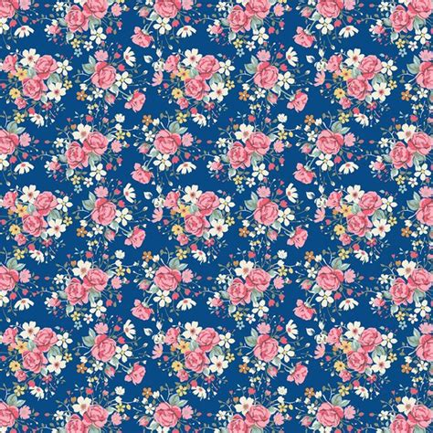 pastel flower pattern wallpaper floral pattern image 3658203 by ksenia l on favim com