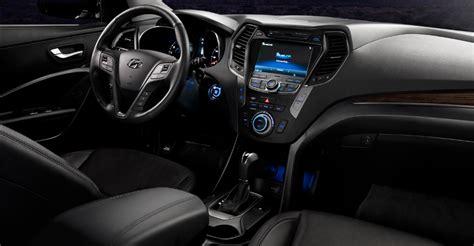 Hyundai Santa Fe Interior Dimensions by 2018 Hyundai Santa Specs Release Date Price And Design