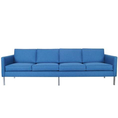 mid century modern sofas mid century modern chrome sofa at 1stdibs