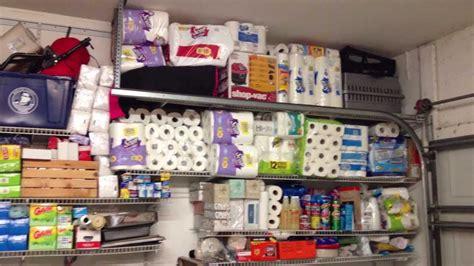 garage supplies preppers garage tour reorganization of shtf supplies
