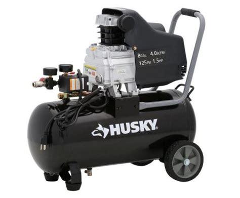 home depot husky 8 gal portable electric air compressor