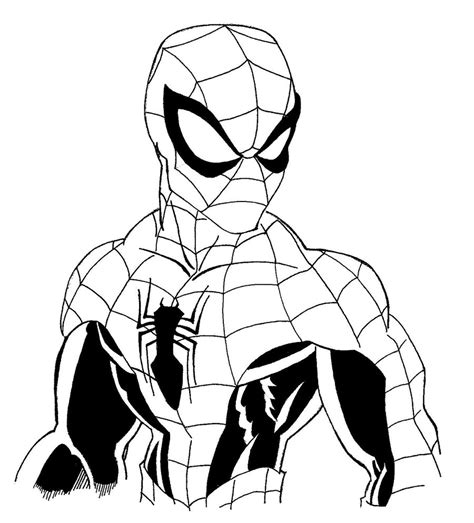 Coloring Pages Photo Spider Man Color Pages Coloring Coloring Pages Images