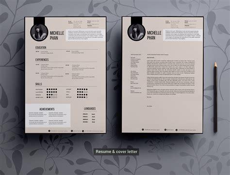 modern elegant cv template resume templates creative