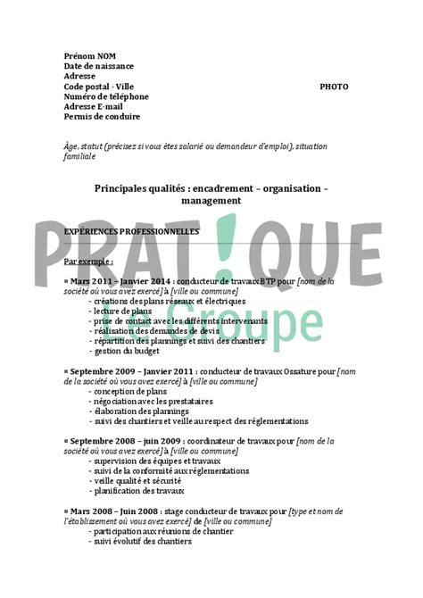 Lettre De Motivation Chef Barman Gratuit Modele Cv Gratuit Pour Senior Document