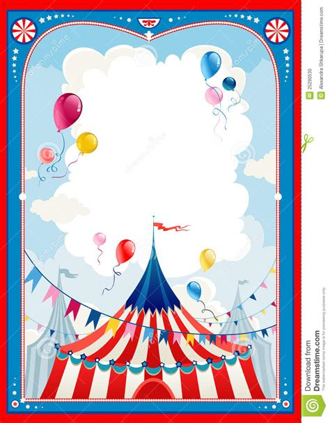 circus frame stock photo image 25290530