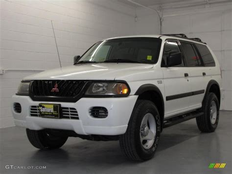 mitsubishi montero sport 2001 2001 mitsubishi montero sport white images