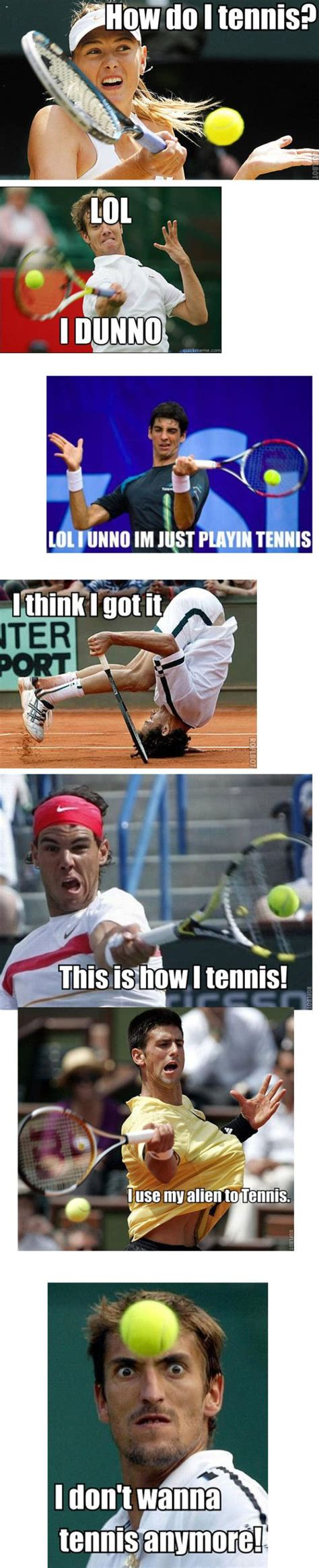 Funny Tennis Memes - 1000 ideas about tennis funny on pinterest tennis