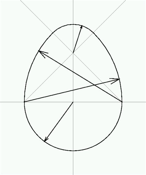 egg pattern drawing how to make an egg shape pattern