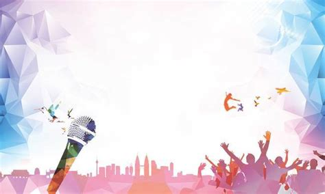 singing background concert performance background picture singing speech