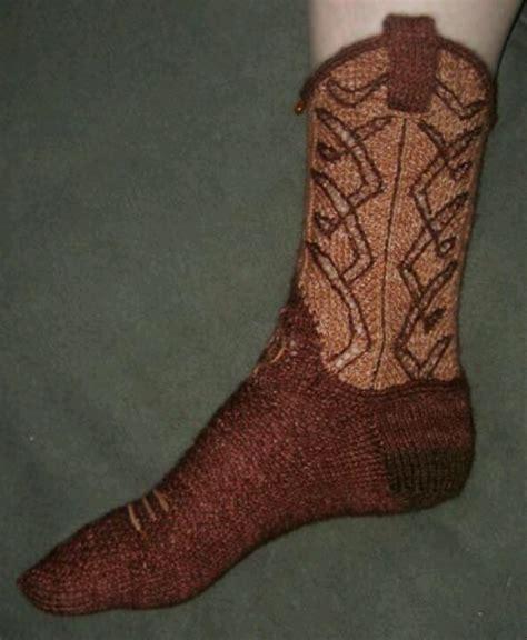 sock like boots cowboy boot knitted socks knitting