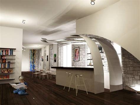 idee casa moderna angolo bar design