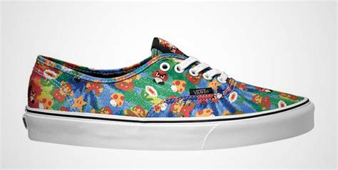 design vans com nintendo vans sneakers sole collector