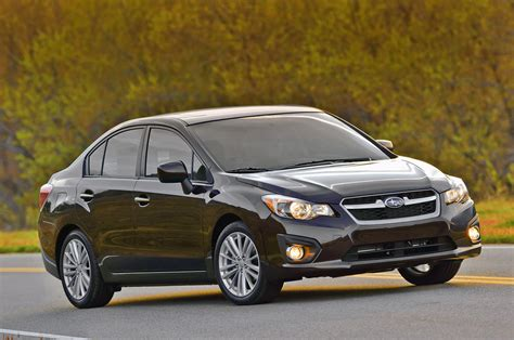 2012 Subaru Impreza: America's most fuel efficient AWD