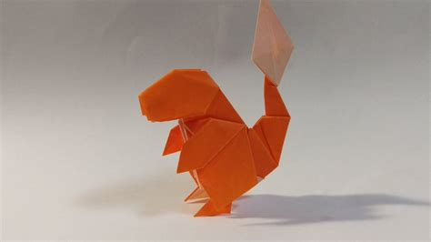 Charmander Origami - charmander origami 28 images 3 d origami charmander by